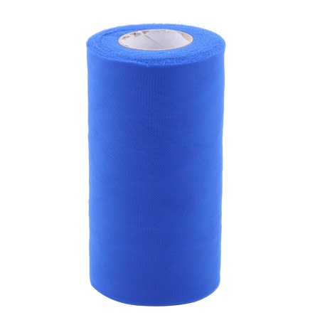 Royal Blue Tulle - Party Polyester Handcraft Decor Tulle Spool Roll Royal Blue 6 Inch x 50 Yards