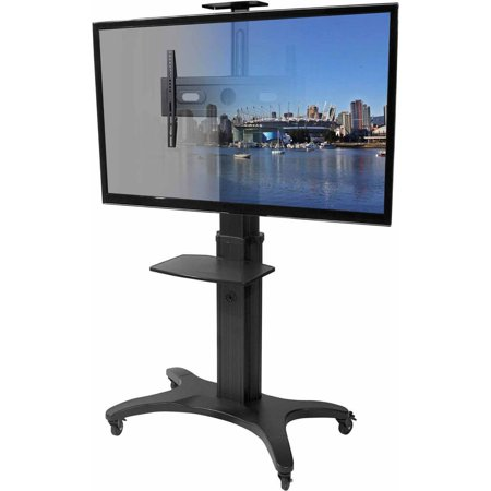 Kanto MTMA70PL Mobile TV Mount with Shelf for 40″-70″ Displays