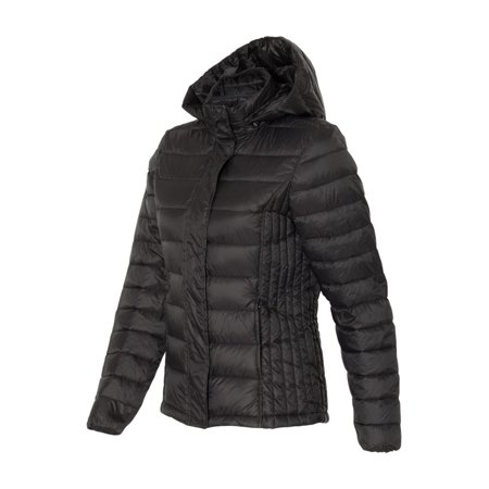 Weatherproof - Women's 32 Degrees Hooded Packable Down Jacket -