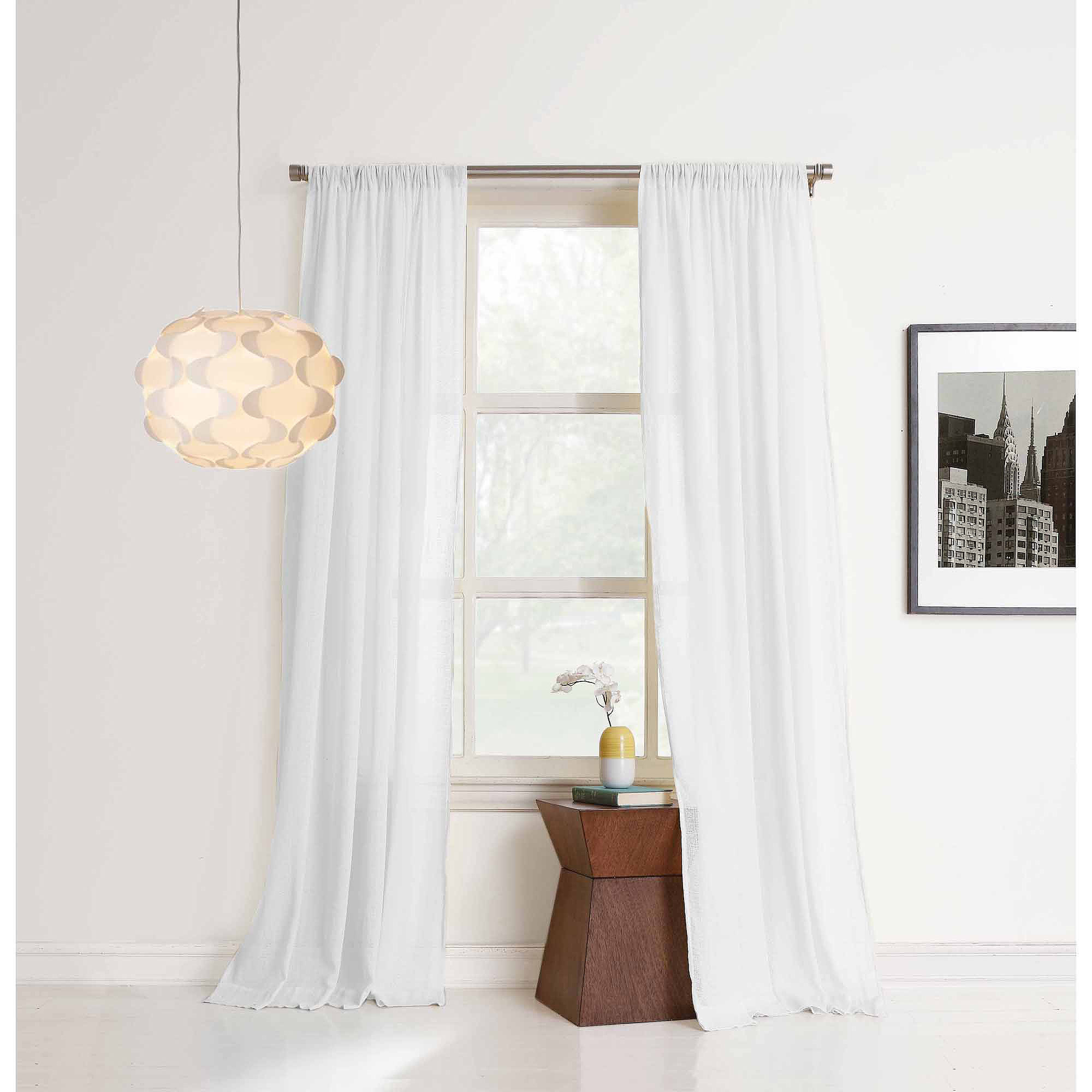 No. 918 Brayden Cotton Gauze Curtain Panel