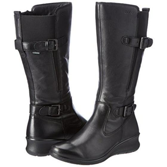 5bc17c6a0fa ECCO - Ecco Women s Women s Babett Wedge Gore-Tex Winter Boot - Walmart.com