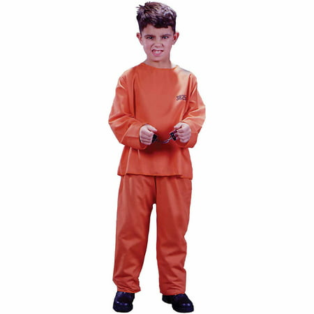Got Busted Child Halloween Costume