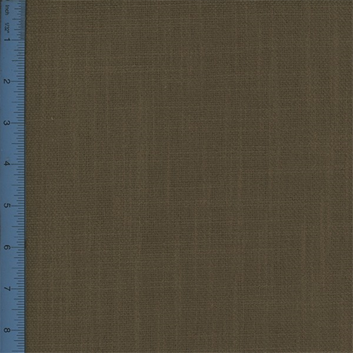 Plain-Weave Canvas Brown Home Decorating Fabric, Fabric By the Yard