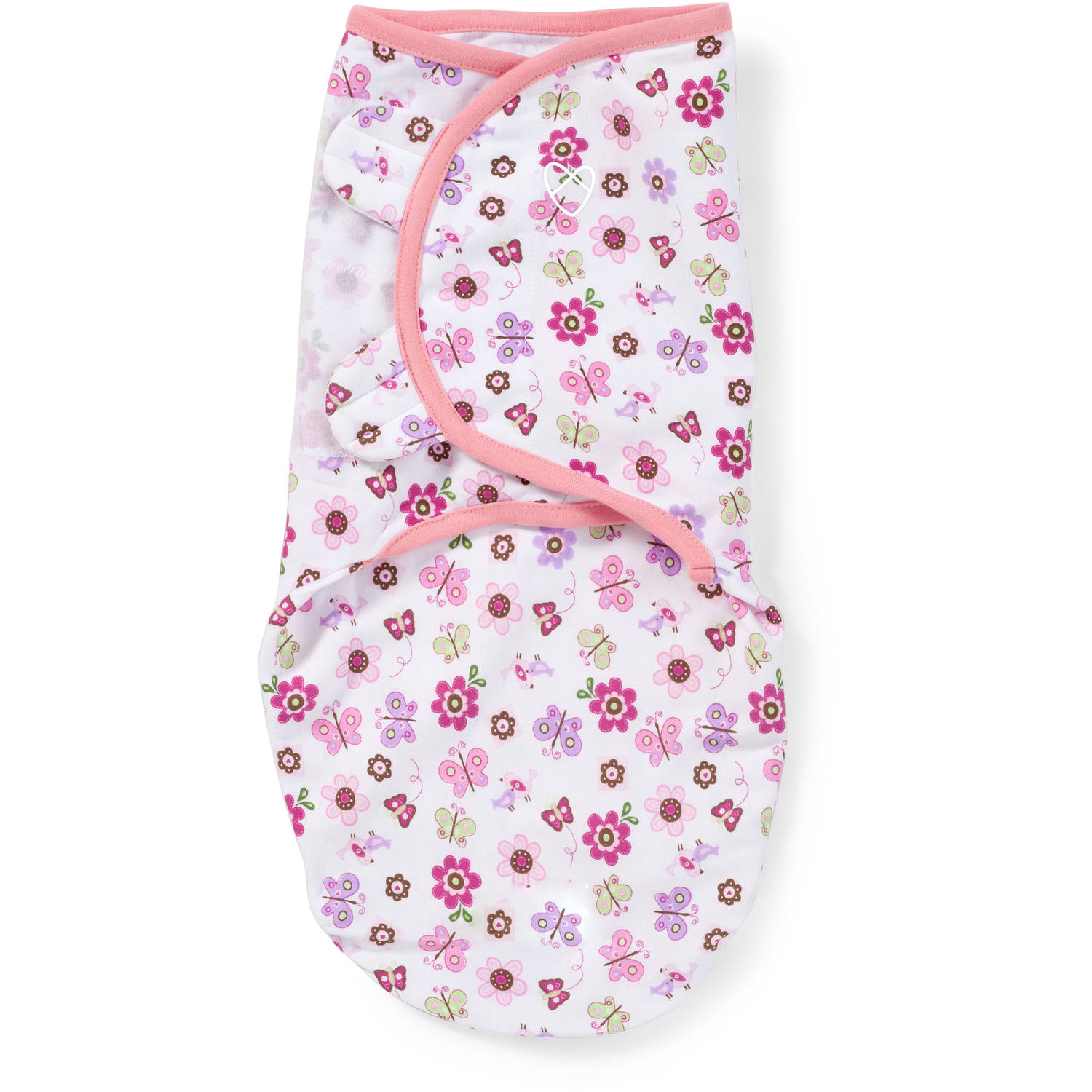 SwaddleMe Original Swaddle, 1-Pack, Flutter Flowers, Small