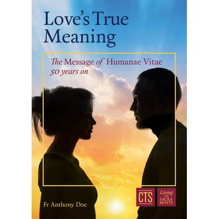 Love's True Meaning - eBook