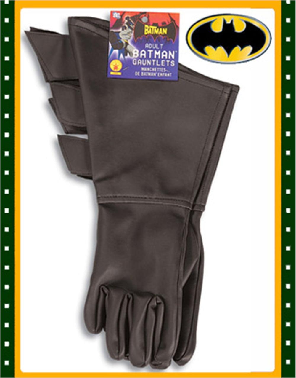 sc 1 st  Walmart.com & Batman Gloves - Men Costume Accessory - Walmart.com