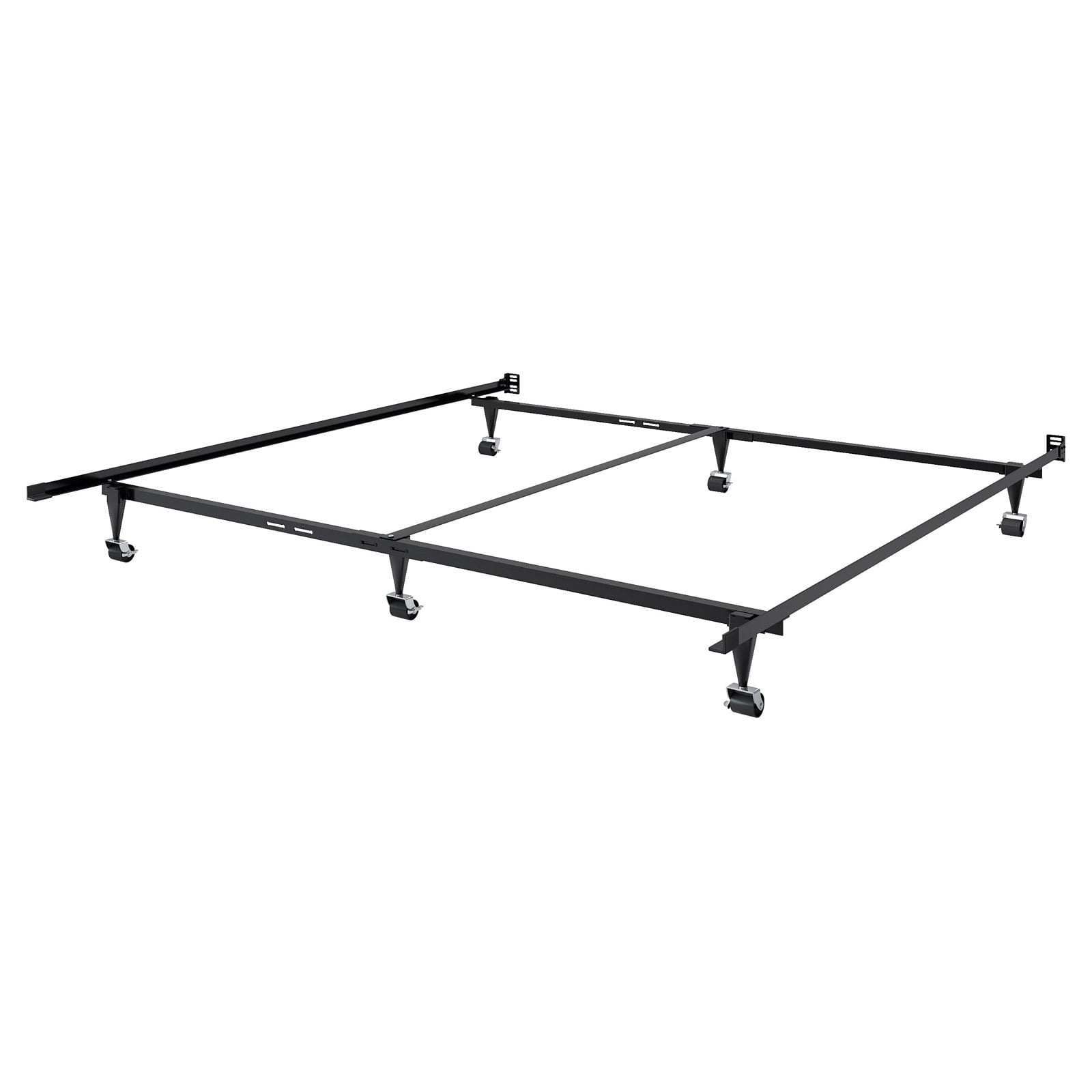 Adjustable Queen or King Metal Bed Frame by CorLiving