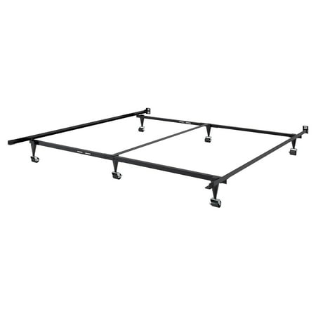 Adjustable Queen or King Metal Bed Frame - Walmart.com