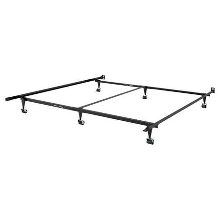 Adjustable Queen Or King Metal Bed Frame Walmart Com