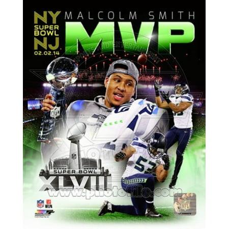 Malcolm Smith Super Bowl Xlviii Mvp Portrait Plus Sports Photo