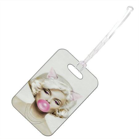 KuzmarK Luggage Travel Bag Tag -  Prom Queen Pretty Kitty](Pretty Kitty)