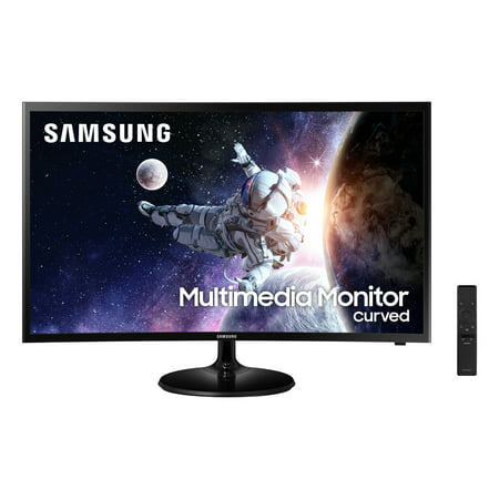 "Samsung 32"" Curved 1920x1080 HDMI 60hz 4ms FHD LCD Monitor- LC32F39MFUNXZA (Speakers Included)"