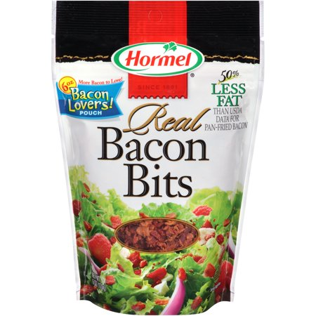 (2 Pack) Hormel Real Bacon Bits, 6 oz (Hormel Real Bacon)