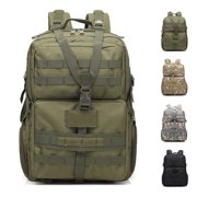 Zimtown 45L Waterproof Tactical Molle Backpack, Military Assault Army Rucksack Daypack, Student School Bookbag, for Outdoor Hiking Travelling Camping Trekking Climbing
