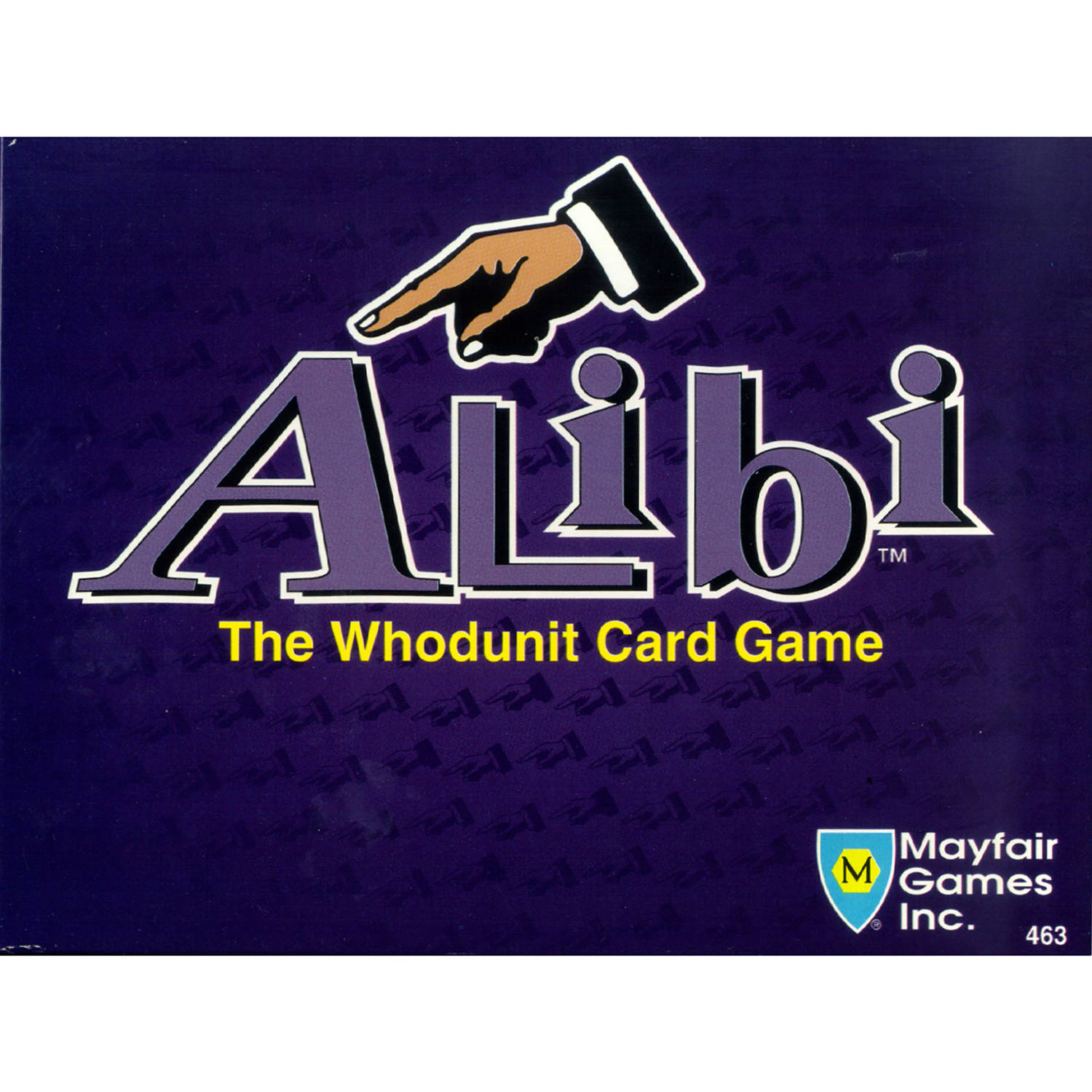 Mayfair Alibi Game