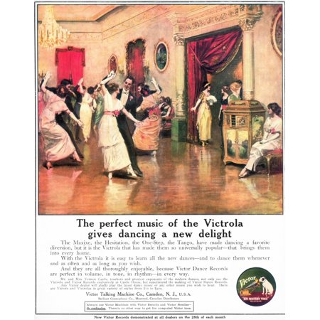 Phonograph 1914 Namerican Magazine Advertisement 1914 For The Victor Talking Machine Company Poster Print by Granger Collection Victor Talking Machine Company