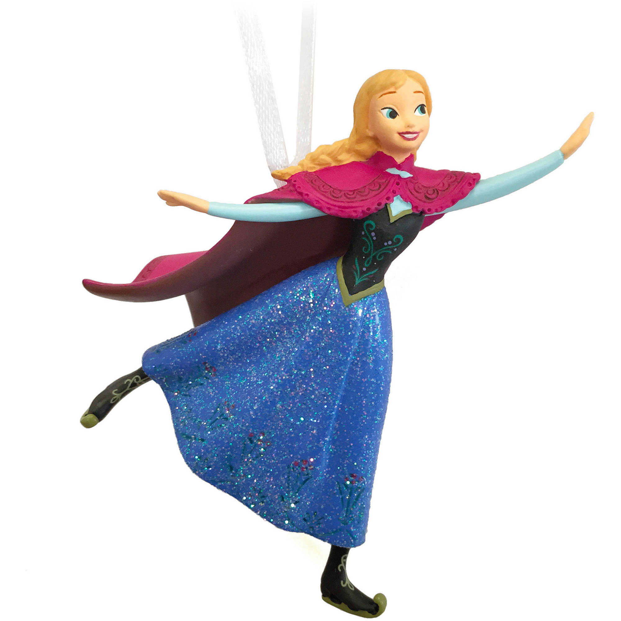 Hallmark Disney Frozen Skating Anna Resin Ornament