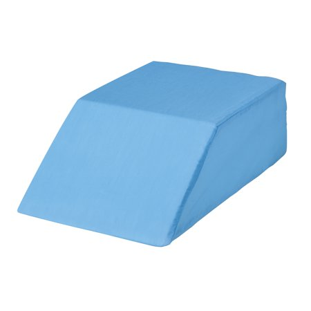 Easy Comforts Bed Wedge Leg Lift Cushion Pillow, Blue