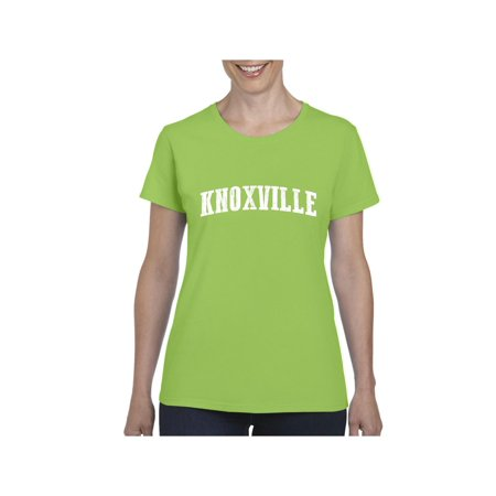 Knoxville in Tennessee Women Shirts T-Shirt Tee