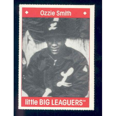 1990 Little Big Leaguers Ozzie Smith Cardinals Little League (Ozzie Smith Cards)
