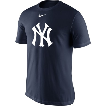 New York Yankees Nike Legend Batting Practice Primary Logo Performance T-Shirt - Navy