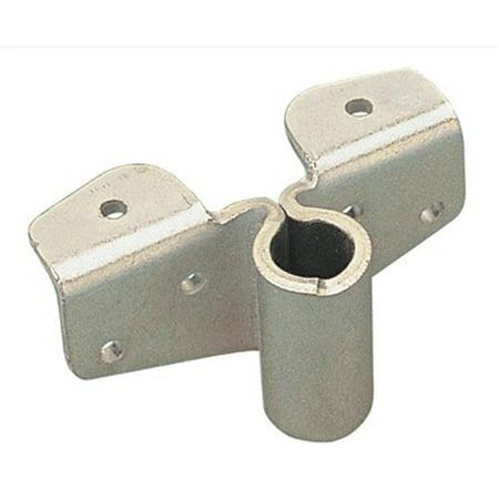"""Sea Dog Heavy Duty Oarlock Socket, 9/16"""" Angled, Zinc-Plated Steel"""