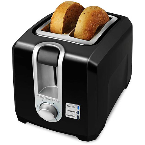 Black & Decker 2-Slice Toaster, Black by Overstock