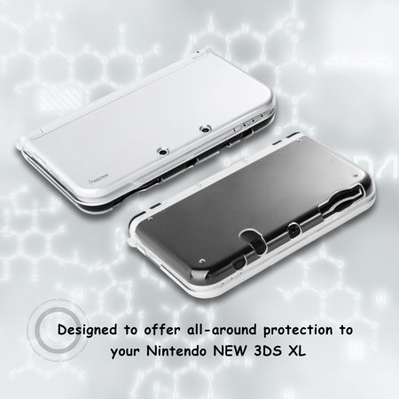 Nintendo New 3DS LL/3DS XL Case, by Insten Crystal Hard Snap-in Case Cover For Nintendo New 3DS LL/3DS XL, Clear - image 6 de 8
