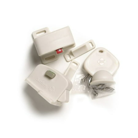 Louise Galvin Natural Locks - Safety 1st Magnetic Cabinet Locks, 2 Locks + 1 Key