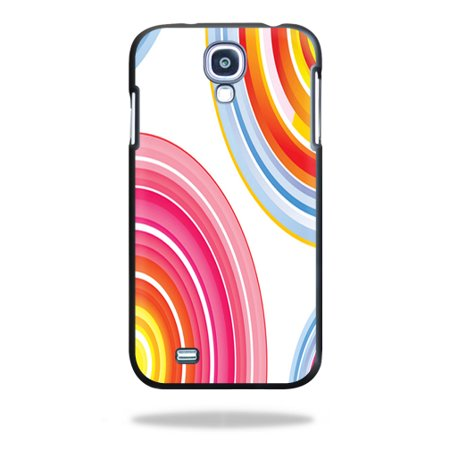 Mightyskins Protective Vinyl Skin Decal Cover for Spigen Ultra Fit Samsung Galaxy S4 Case wrap sticker skins Lollipop Swirls