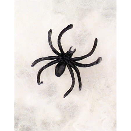 HALLOWEEN SPIDER WEBS & WEBBING + Spiders - 3 Pack, 3 pack of spider webs By - Halloween Spider Webbing