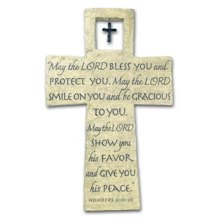Lighthouse Christian Products May the Lord Bless you Decorative Wall D cor