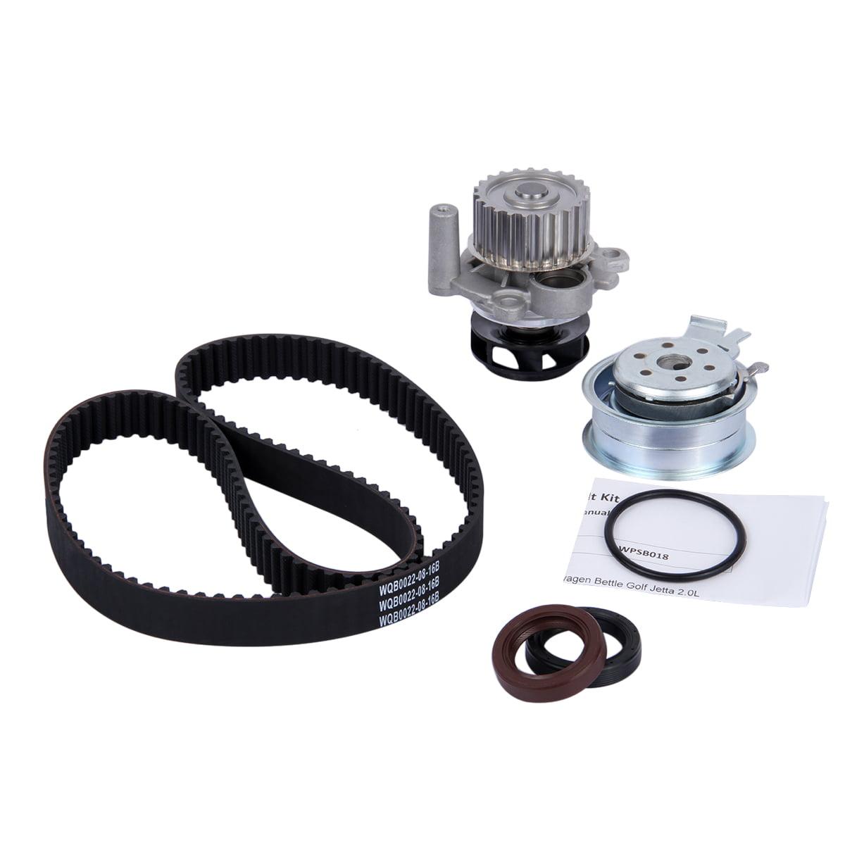 Engine Timing Belt Water Pump Kit For 98-05 Volkswagen Beetle Golf Jetta 2.0L AVH AZG AEG BEV by Unbranded