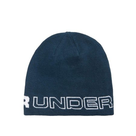 Under Armour Winter Beanie - Under Armour NEW Sea Blue Men's One Size Wordmark ColdGear Knit Beanie 300