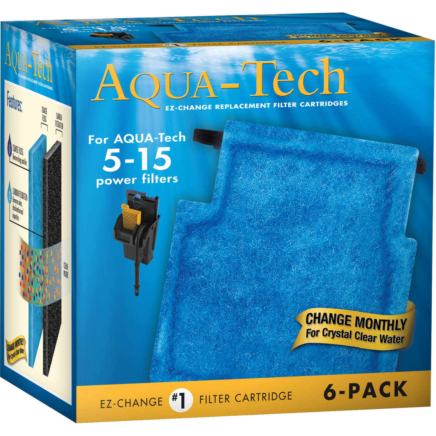 AquaTech 20/40-30/60 Filter Cartridge 6pk