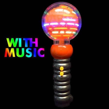 Light Up Pumpkins (Light Up Musical Spinning Pumpkin Wand by)