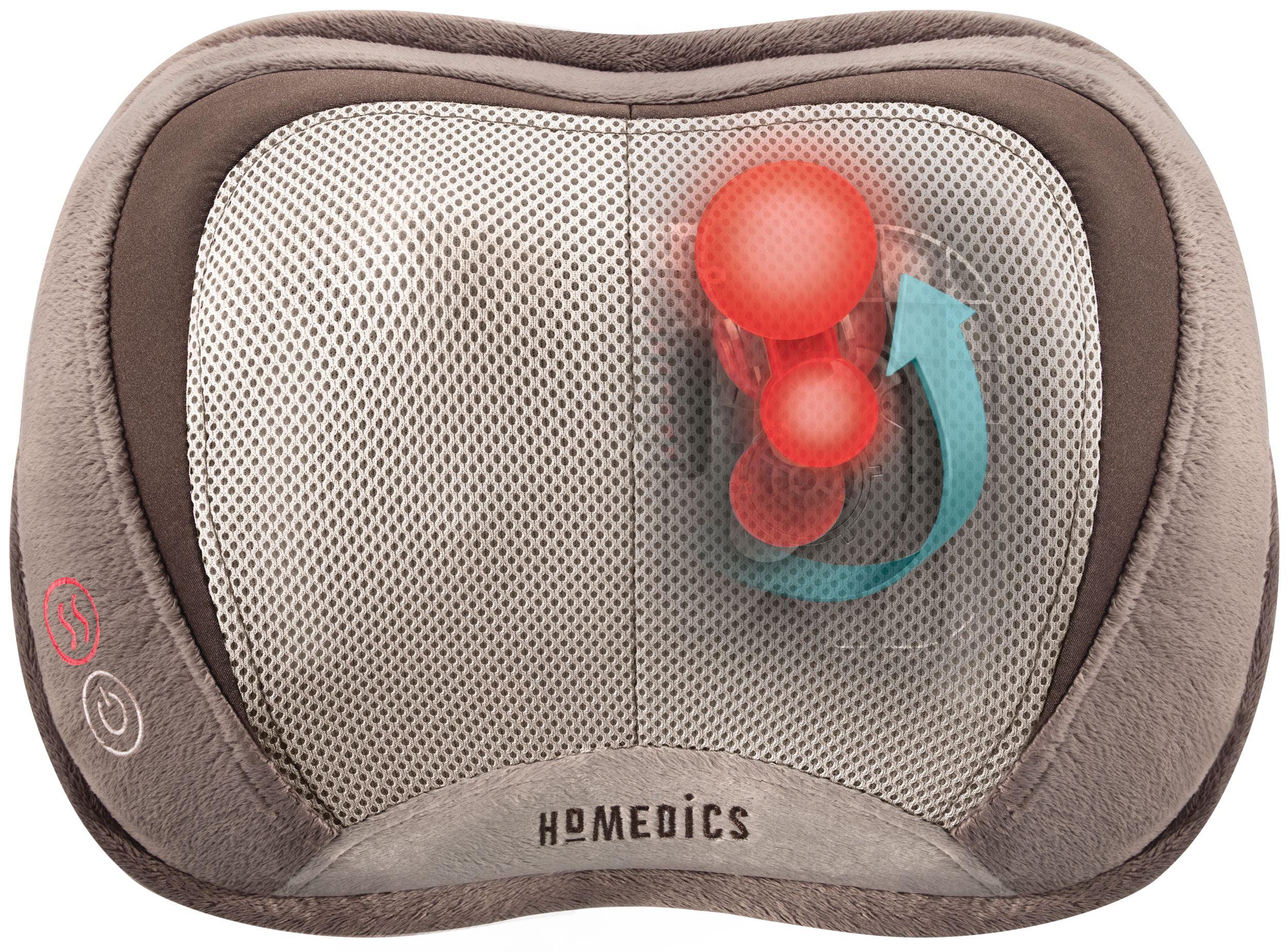 Homedics Shiatsu Elite Vibration And Massage Pillow With Heat Sp