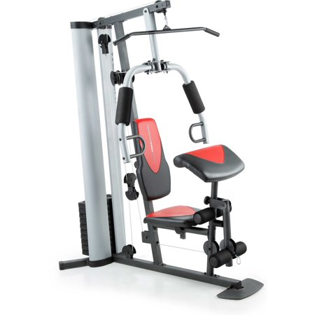 Weider Pro 6900 Home Gym System with 6 Workout Stations and Professional Exercise Chart