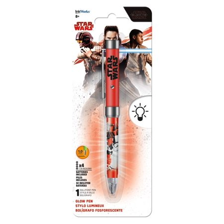 Glow Pen - Star Wars: The Last Jedi New - Glow In The Dark Pens