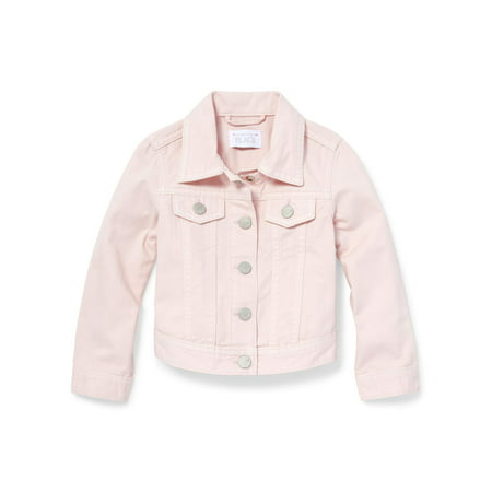 Pink Denim Jacket (Baby Girls & Toddler Girls)