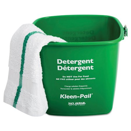 - Kleen-Pail Cleaning Bucket, 3-Quart, Green