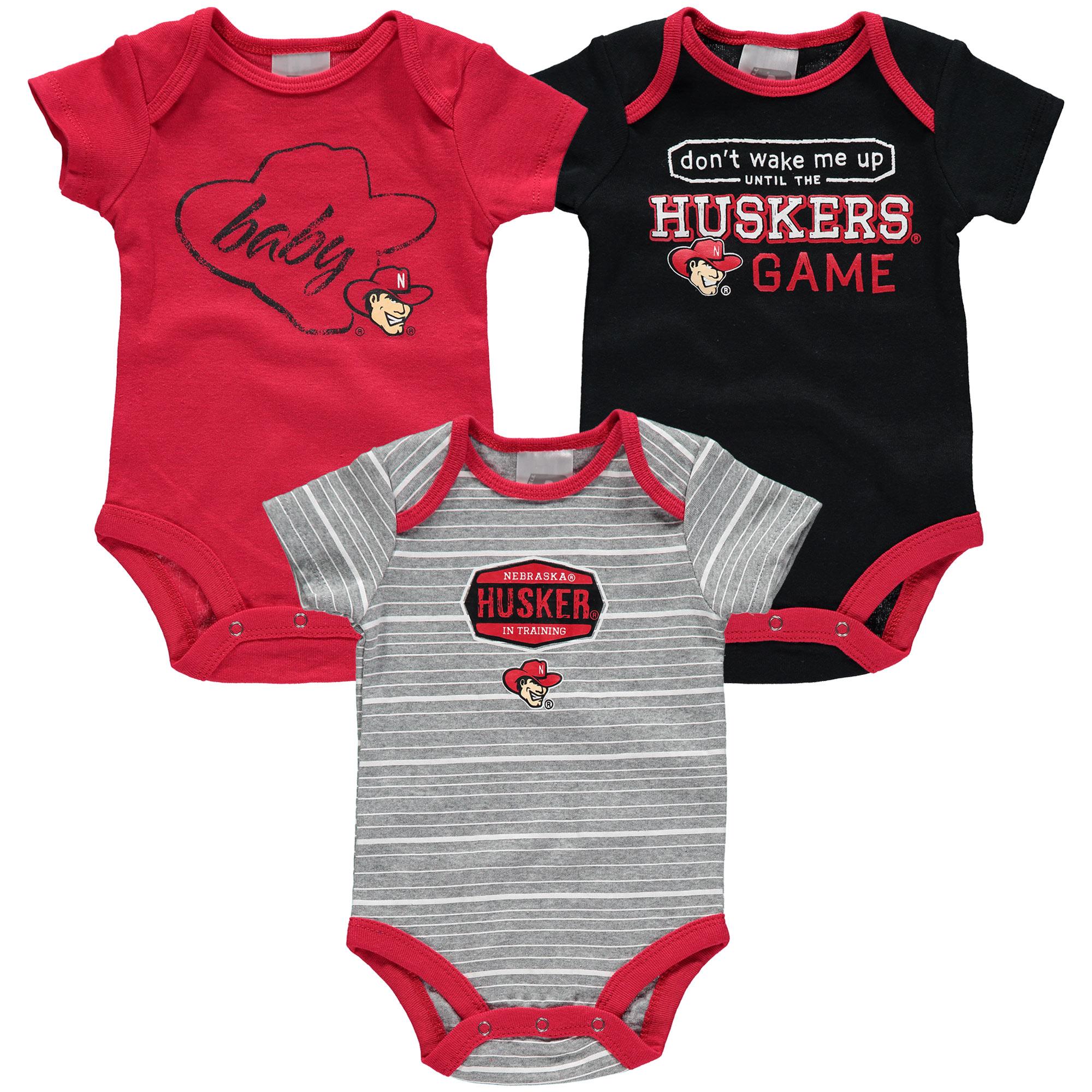 Nebraska Huskers Tie Onesie Gift Set