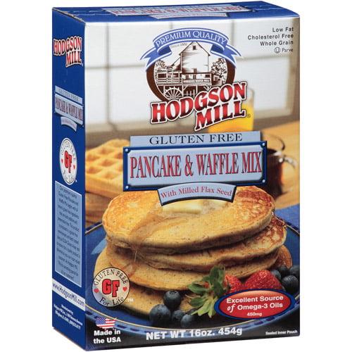 Hodgson Mill Gluten Free Pancake & Waffle Mix, 16 oz, (Pack of 8) by Hodgson Mill
