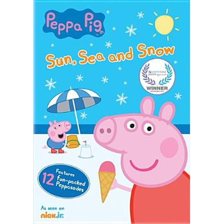 Peppa Pig: Sun, Sea & Snow (DVD)