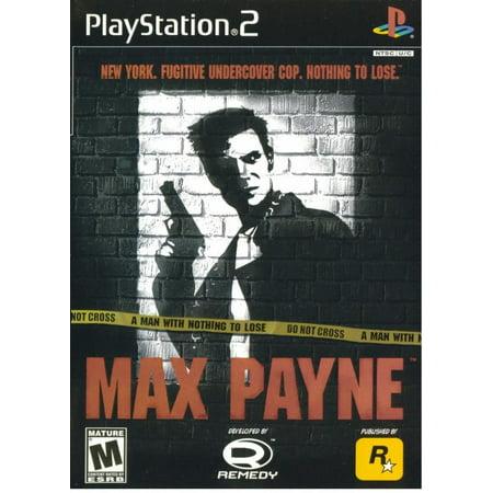 Max Payne - PS2 (Refurbished)