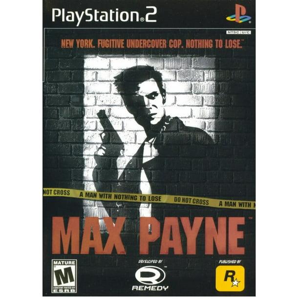 Max Payne - PS2 Playstation 2 (Refurbished)