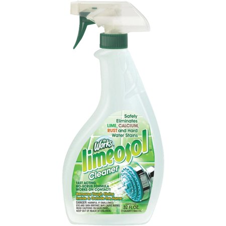 HomeCare Labs/ Works 32oz Rust/Lime Cleaner 67320WK