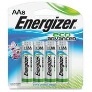 Energizer Ecoadvanced Aa Batteries - Aa - Alkaline (xr91bp-8ct)