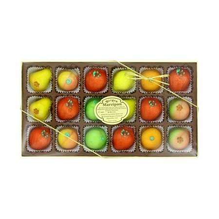 Bergen Marzipan M-1 Assorted Fruit 8 Ounce