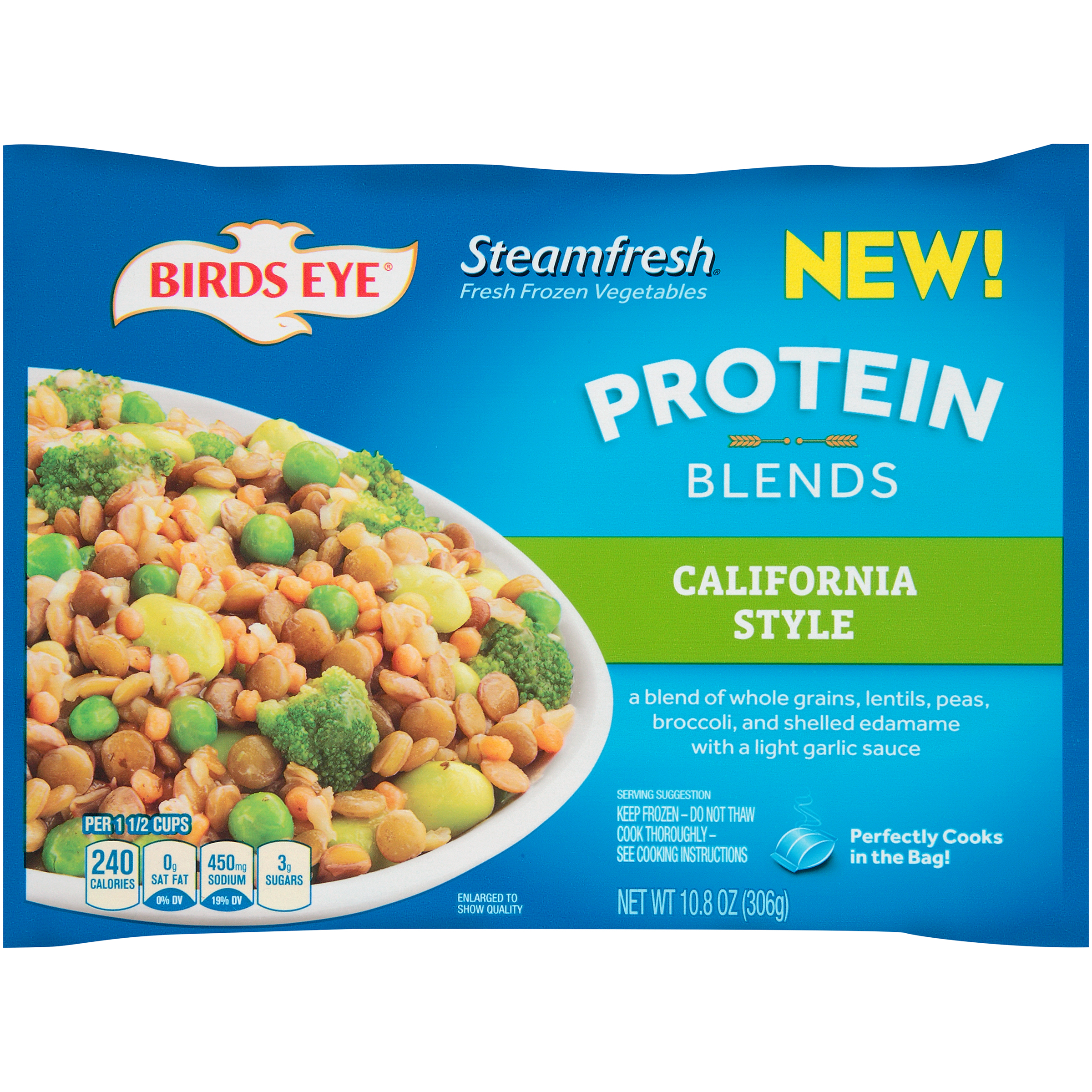 Birds Eye�� Steamfresh�� California Protein Blends 10.8 oz. Box